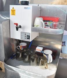 Tea & Coffee making facilities on board